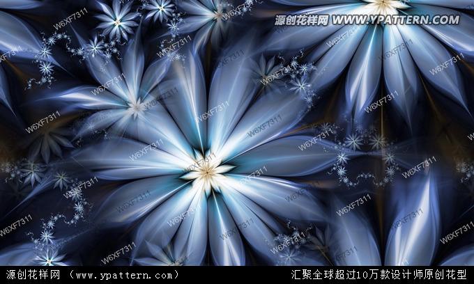 数码印花 花型设计 欧版大气 欧美风